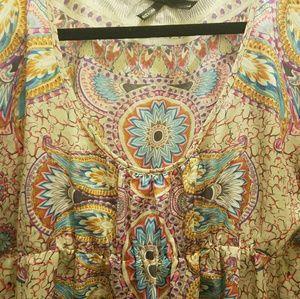 Boho style blouse
